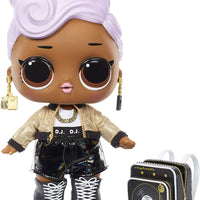 LOL Surprise - BIG B.B. DJ - 27.5cm Large Doll unbox fashions, Shoes, Accessories , Includes Playset Desk, Chair & Backdrop