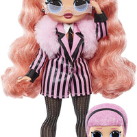 L.O.L LOL Surprise - OMG Winter Chill - BIG WIG fashion doll & Madame Queen Doll with 25+ surprises