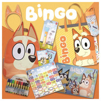 BLUEY - BINGO SHOWBAG inc , Water bottle, Backpack , Headband , Memory band, torch, markers etc