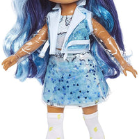 RAINBOW HIGH -  Rainbow Surprise 14 inch Doll 35cm - Blue Skye Doll wit DIY Slime Fashion