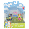 BLUEY - 2 pack figurines - Pool Time with Bluey & Bingo
