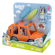 BLUEY - Heeler 4WD FAMILY VEHICLE PLAYSET- Includes Bandit