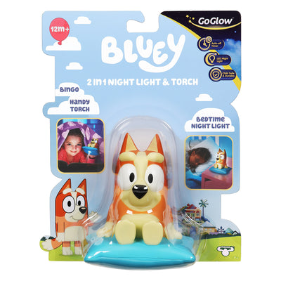 BLUEY - GoGlow Bingo 2-in-1 Night Light & Torch