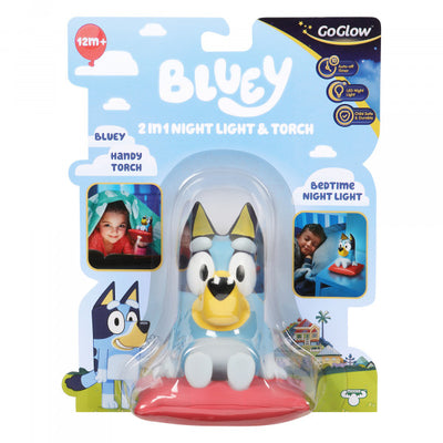 BLUEY - GoGlow Bluey 2-in-1 Night Light & Torch