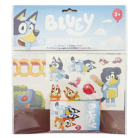 BLUEY - SHOWBAG - includes Backpack , Activity Set , Bucket Hat , Stickers , mask ++ lots more