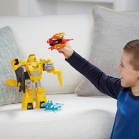 Rescue Bots - PlaySkool Heroes - BUMBLEBEE MEGABOT KNIGHT WATCH PLAYSET
