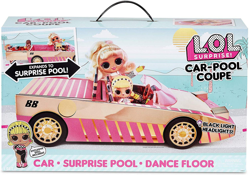 L.O.L LOL Surprise - LIGHTS - CAR - Pool Coupe with exclusive Doll