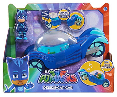 PJ MASKS - CATBOY in his DELUXE CAT CAR with Lights sounds & theme song