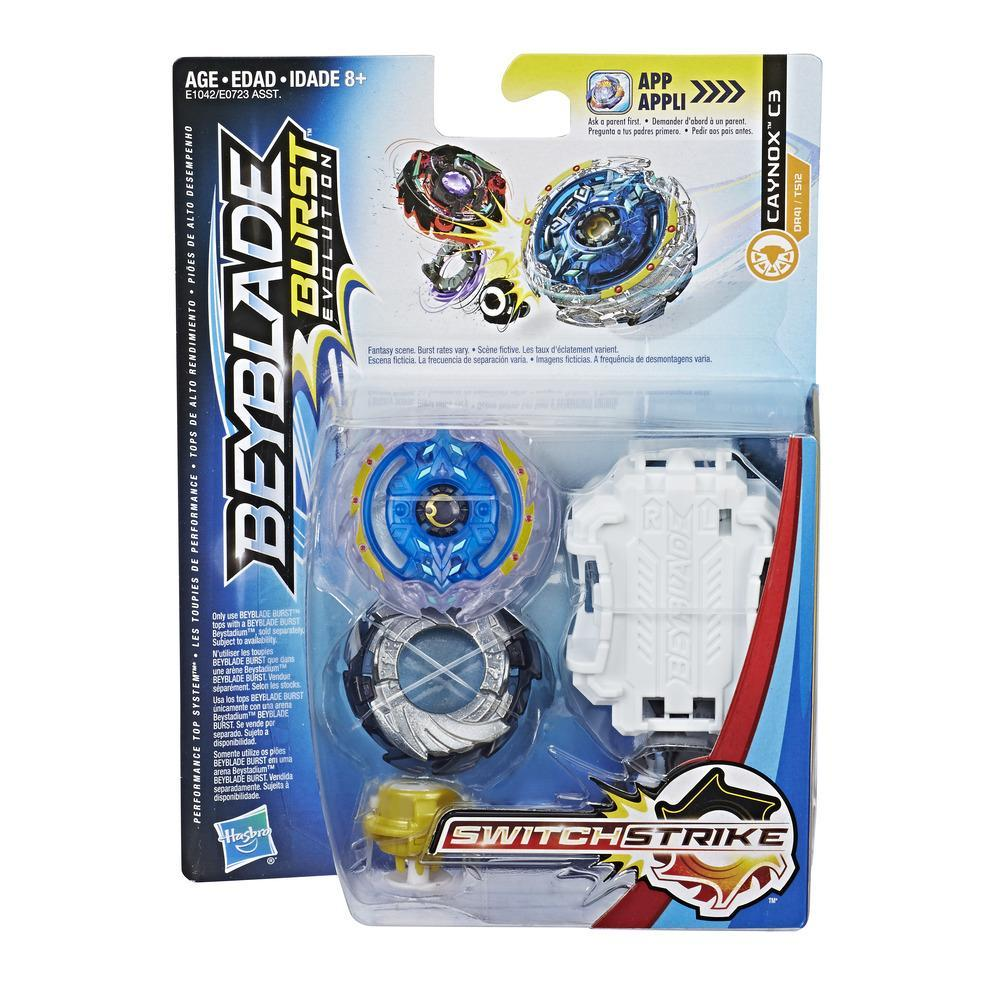 BeyBlade Burst Evolution - CAYNOX C3 - SWITCH STRIKE STARTER PACK