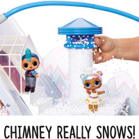 LOL Surprise - Winter Disco CHALET DOLL HOUSE with 95++ Surprises & exclusive Family