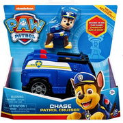 Paw Patrol - Chase Patrol Cruiser Vehicle  with removeable Pup