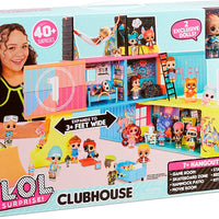 L.O.L LOL Surprise  - Clubhouse Playset with 40+ Surprises and 2 Exclusives Dolls