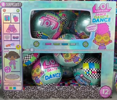 L.O.L LOL Surprise - Dance Tots full case of 12 dolls / balls