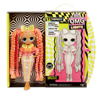 L.O.L LOL Surprise - OMG LIGHTS DAZZLE Fashion Doll with 15 surprises