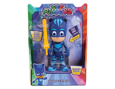 PJ MASKS - CATBOY - Talking Poseable Figure 15 CM DELUXE phrases from the show - on clearance