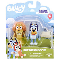 BLUEY - SEASON 4 - Figurine 2 packs - DOCTOR CHECKUP