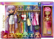 RAINBOW HIGH - FASHION STUDIO + Exclusive Doll with Rainbow of fashions (clothes and assessories) 300+ looks