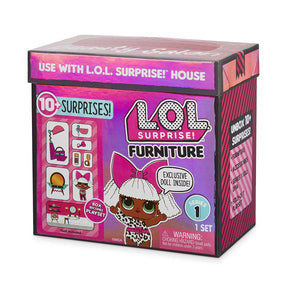 L.O.L LOL Surprise - Furniture Salon with Diva & 10+ Surprises