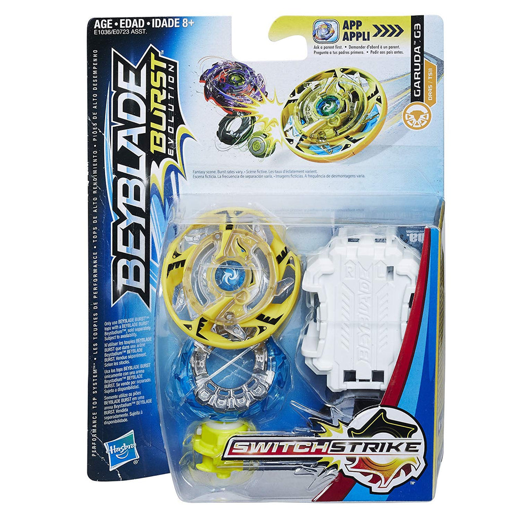 BeyBlade Burst Evolution - GARUDA G3 - SWITCH STRIKE STARTER PACK