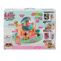 LOL Surprise Dolls - DIY GLITTER FACTORY with exclusive doll