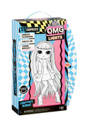 L.O.L LOL Surprise - OMG LIGHTS GROOVY BABE Fashion Doll with 15 surprises