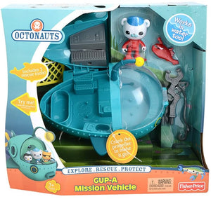 Octonauts - GUP A with Captain Barnacles -  Genuine Fisher Price toy