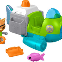 Octonauts - Gup - P & Kwazii Genuine Fisher Price toy
