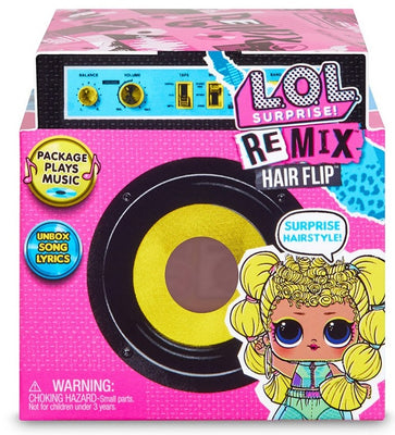 L.O.L LOL Surprise - REMIX - HAIR FLIP with 15 surprises with Hair Reveal & Music FULL CASE OF 12 / dolls - PREORDER