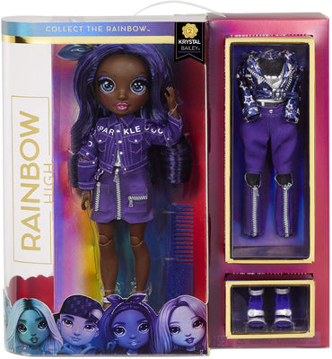 RAINBOW HIGH -  INDIGO - (Dark Blue Purple) Fashion Doll with 2 Complete Mix & Match Outfits and Accessories - COMING SOON