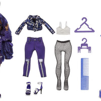 RAINBOW HIGH -  INDIGO - (Dark Blue Purple) Fashion Doll with 2 Complete Mix & Match Outfits and Accessories