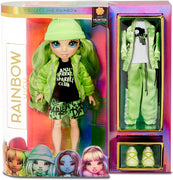 RAINBOW HIGH -  Jade Hunter – Green Fashion Doll with 2 Outfits