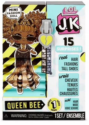 L.O.L LOL Surprise - JK Queen Bee Mini Fashion Doll 15+ surprises