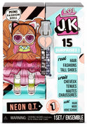 L.O.L LOL Surprise - JK Neon Q.T. Mini Fashion Doll with 15+ surprises