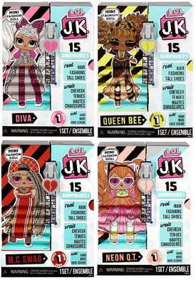 L.O.L LOL Surprise - JK - COMPLETE SET OF 4 (DIVA,SWAG,BEE,NEON) - PREORDER