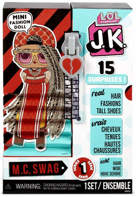 L.O.L LOL Surprise - JK M.C. Swag Mini Fashion Doll 15+ surprises - PREORDER