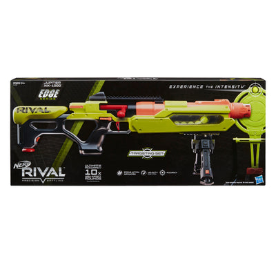 Nerf Rival - JUPITER XIX-1000 Edge Series Blaster with Target and 10 Rounds