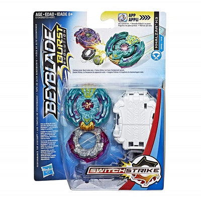 BeyBlade Burst Evolution - KHALZAR K3 - SWITCH STRIKE STARTER PACK