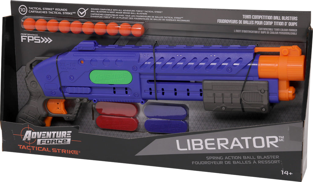 DART ZONE - ADVENTURE FORCE - LIBERATOR Pump Action - compatible with Nerf rival