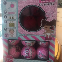 LOL Surprise Dolls- Little Sisters SERIES 4 DECODER- FULL BOX OF 24 - ORIGINAL