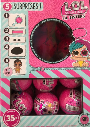 L.O.L LOL Surprise Dolls - Little Sisters Decoder Series 4 Wave 2 - Full Box of 24 - INSTOCK