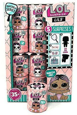 L.O.L LOL Surprise - SERIES 5 LIL's Pets or Sisters Makeover series - FULL CASE of 24