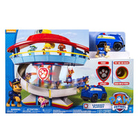 Paw Patrol Lookout Playset Tower + Chase & Vehicle, Lights & Sounds