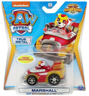 Paw Patrol  - MIGHTY PUPS Marshall truck diecast car 1:55 scale