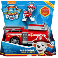 Paw Patrol - Marshall Fire Engine Vehicle with removeable Pup