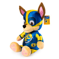 PAW PATROL - MIGHTY PUPS - CHASE JUMBO PLUSH - 60 CM TALL!!
