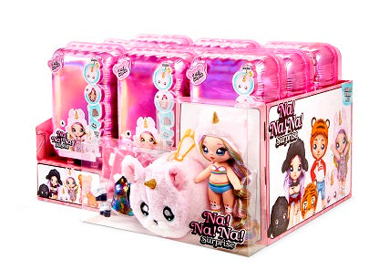 MGA- NA NA NA SURPRISE - 1 FULL CARTON of 9 DOLLS (includes display) ( lol surprise) -