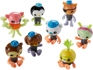 Octonauts - Octo Crew Glow in the Dark 8 FIGURINE gift set