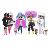 L.O.L LOL Surprise - OMG Winter Disco Dollie Fashion Doll & Sister