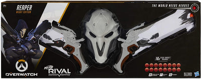 Nerf Rival - Overwatch Reaper (wight edition) COLLECTOR PACK ( 2 blasters + reaper face mask)