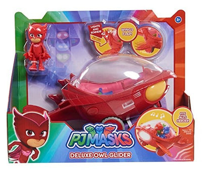 PJ MASKS - OWLETTE in her DELUXE OWL GLIDER with Lights sounds & theme song